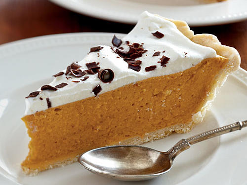 Spiced Pumpkin Chiffon Pie Comfort Food Recipe