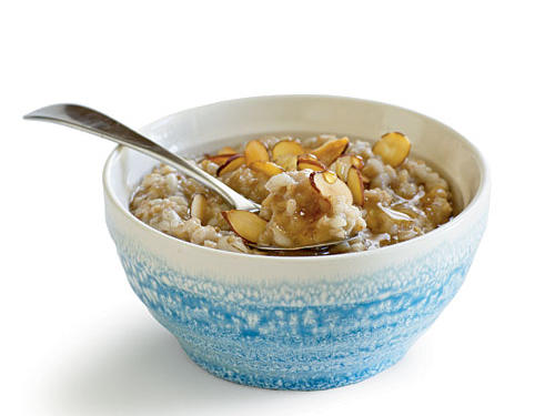Oatmeal can be a great whole-grain energy source. Or, it can be a sweet bowl of refined carbs that leave you starving mid-morning. The primary oatmeal culprits are the refined instant varieties that are low in fiber and protein and have added sugar. Avoid these by choosing an instant oatmeal where the first ingredient listed is steel cut oats, whole oats, or whole groats and one that has at least 4g of fiber and 5g protein per serving. Another good sign—there's no added sugar or it's at the end of the ingredient list. Better yet, cook and refrigerate a batch of steel cut or old-fashioned oats that you can simply reheat and flavor yourself with fruit and toasted nuts.