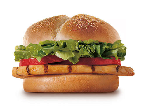 Fast Food Nutrition: Burger King Tendergrill Chicken Sandwich