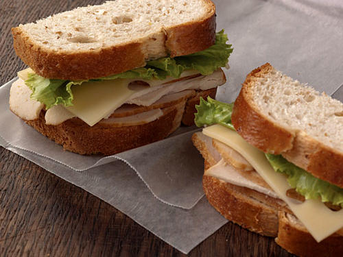 Fast Food Nutrition: Starbucks Turkey and Swiss Sandwich with mayo