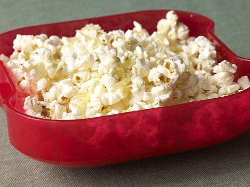 Healthy Snacks: Parmesan Popcorn