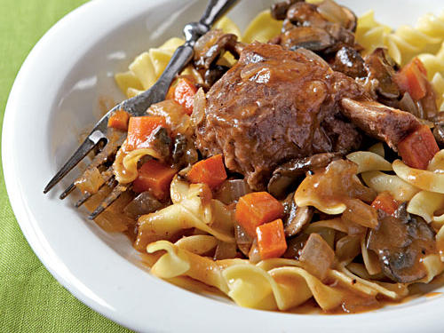 Braised Short Ribs with Noodles