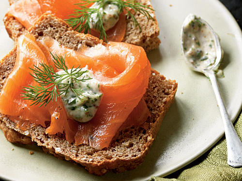 Although smoked Irish salmon is traditional, any smoked salmon will work in this dish―just make sure to purchase smoked wild salmon ­because it's a sustainable choice.