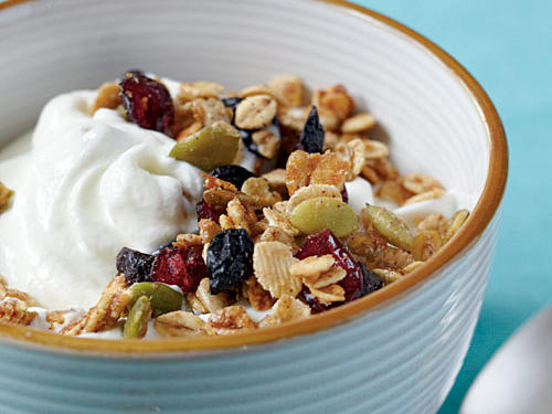 Toasted Barley and Berry Granola
