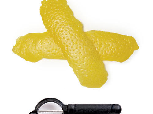 Long blade yields wide strips of rind that are perfect for candying or making limoncello.