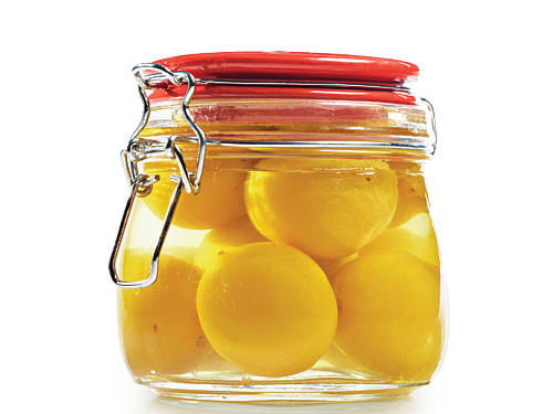 3. Preserving lemons for savory zing Lemons preserved in salt are a fragrant, distinctive flavoring in Moroccan and Middle Eastern stews, tagines, and other dishes. Find house-made preserved lemons at many Mediterranean/Middle Eastern groceries―we prefer these to the factory variety for their fresher flavor. Go easy: They're salty!