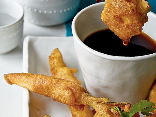 Tempura Tofu and Spring Vegetables Recipes