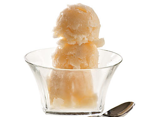 Low-Cal Pink Grapefruit Sorbet