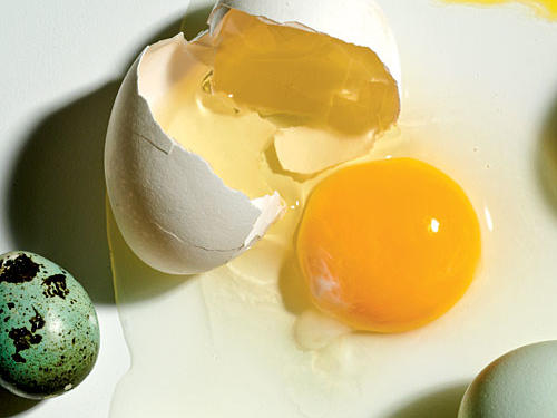Myth 2. Eating eggs raises your cholesterol levels.