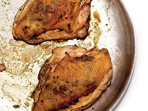 Good news: You can splurge with skin-on chicken from time to time.