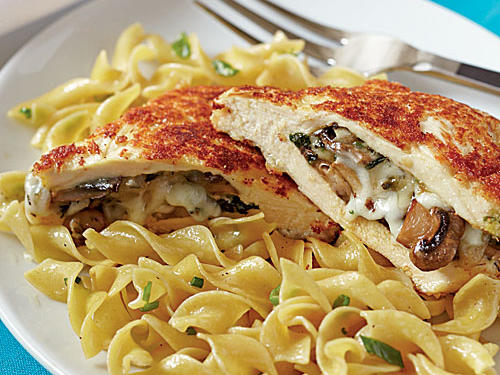 Top-Rated Budget Recipes: Mushroom-Stuffed Chicken