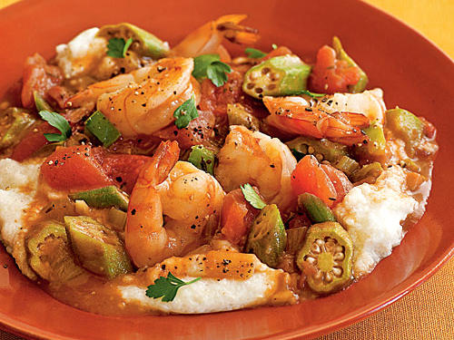 Healthy Dinner Recipe: Shrimp and Okra Gumbo