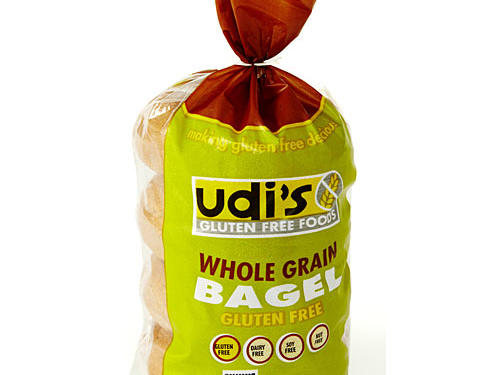 Bread lovers rejoice! Udi's Gluten Free Foods serves up a whole-grain bagel that tastes almost as good as the real thing. Made from whole grains like brown rice flour, teff flour, and flax seed meal, it's surprisingly light and airy. One big, beefy 280-calorie bagel sports 3 grams of fiber and an impressive 7 grams of protein, although we wish it had less than 470 milligrams of sodium.