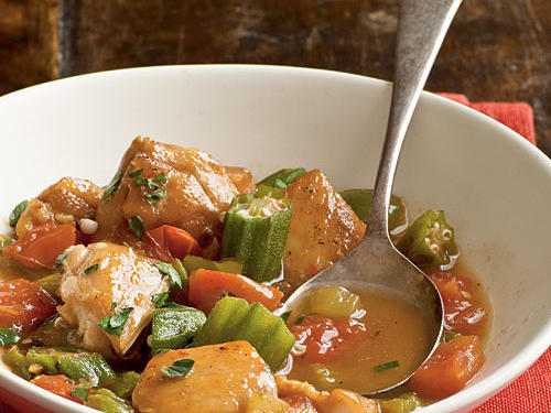 Our hearty chicken stew is similar to Brunswick stew–only the Haitian version is certainly fierier, thanks to the habanero. If you don't like it quite so spicy, use a seeded, minced jalapeño, which is somewhat fruitier and not as powerful.
