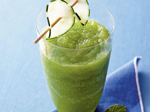 Cucumber, Apple, and Mint Cooler