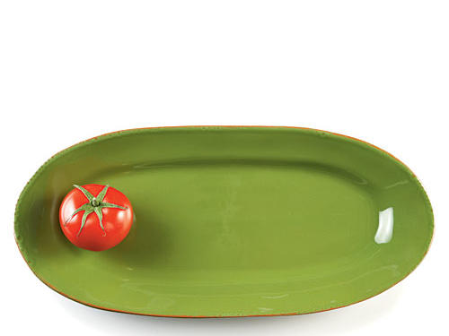 Perfect for summer's vivid colors or for adding color to a winter tablescape—Vietri's 16-inch basil-colred glazed terra-cotta platter is perfect for any occasion.Price: $72Shop:Vietri