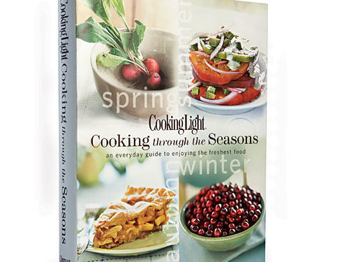 Our best seasonal cookbook, Cooking Light through the Seasons, collects the best recipes for the freshest ingredients. May we suggest you start with the Strawberry Agua Fresca on page 19?Price: $30Shop: Oxmoor House