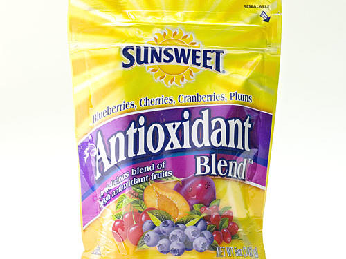 1005 Dried Fruit: Sunsweet Antioxidant Blend