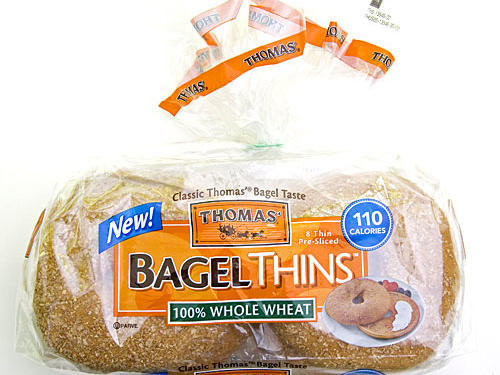 New Breakfast Bread: Thomas' Bagel Thins