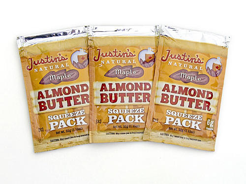 New Nut Butter: Justin's Natural Maple Almond Butter Squeeze Pack