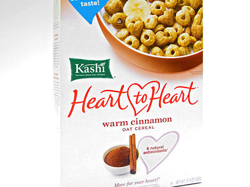 Cereal: Kashi Heart to Heart Warm Cinnamon Oat Cereal