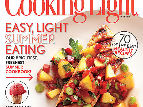 Cooking Light June 2010 Cover