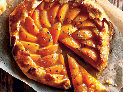 Healthy Apricot-Thyme Galette Recipes