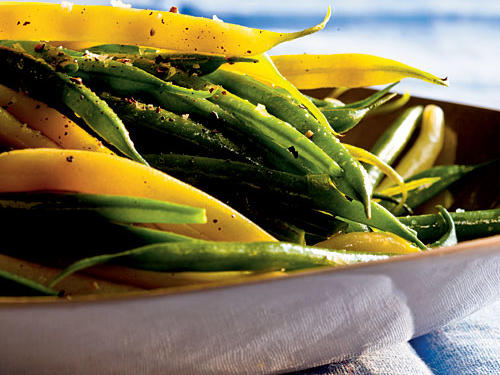 Healthy Herbed Green and Wax Beans Recipes