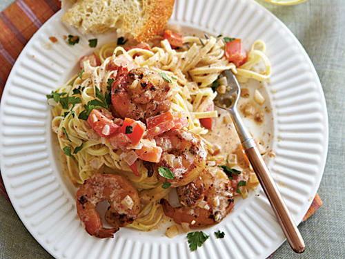 Top-Rated Budget Recipes: Linguine with Spicy Shrimp