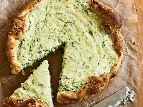 Herbed Ricotta Tart Recipe
