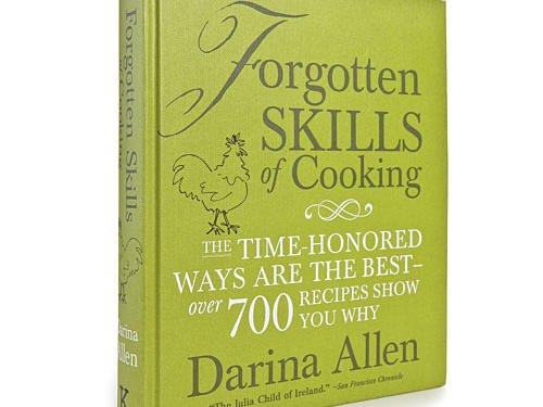 Irish culinary authority Darina Allen's Forgotten Skills of Cooking covers the expected--corned beef and cabbage, soda bread, and nettle soup. But treates like violet vinegar and homemade butter, plus color pictures throughout, make this book a keeper.Price: $40Shop: Kyle Books