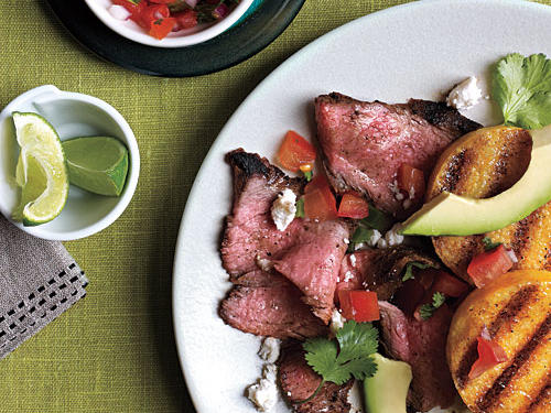 Grilled Polenta with Spicy Steak Recipes