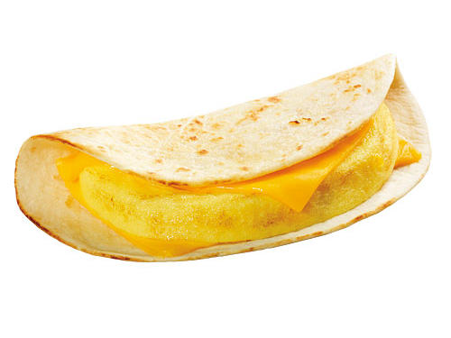 Dunkin' Donuts: Egg White & Cheese Wake-Up Wrap