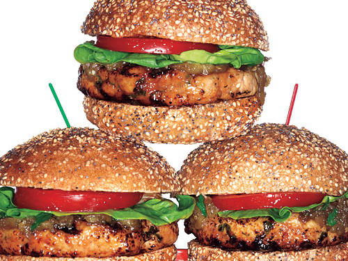 If you've written off turkey burgers after biting into a hockey puck-like patty (learn how to avoid that Cooking Mistake here) we're daring you to give them another try with one of these mouthwatering recipes. But, if you're already a fan, try one of these kicked-up versions the next time you fire up the grill. We promise, you'll be thanking us with every bite.