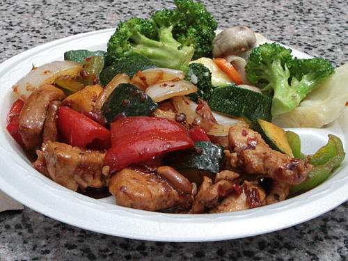 Fast Food Nutrition: Manchu Wok Kung Pao Chicken