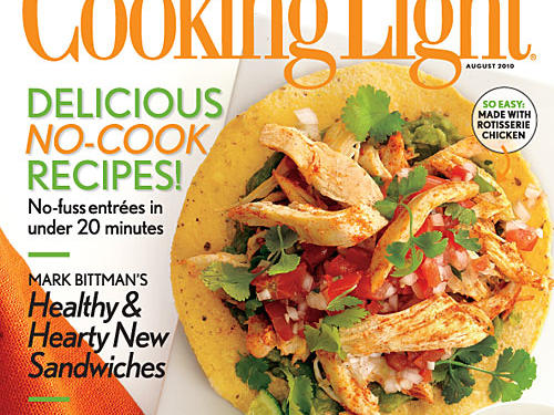 Cooking Light August 2010 Cover