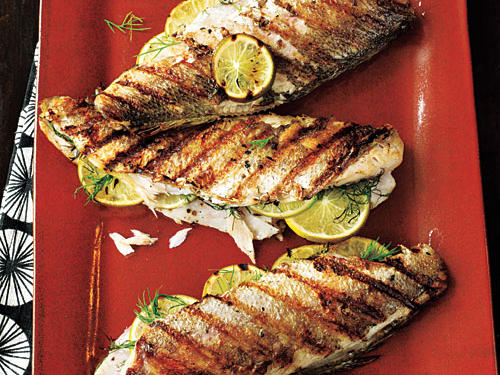 This rustic campfire classic is stuffed with dill and lime and grilled over direct heat to create a mouth-watering culinary experience.