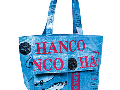 Eco 2-Pocket Market Tote