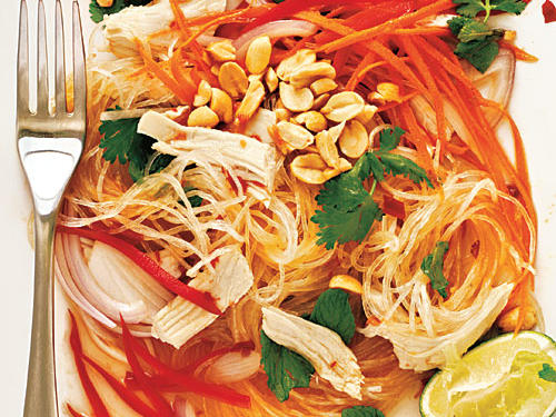 Healthy Chicken and Glass Noodle Salad Recipes