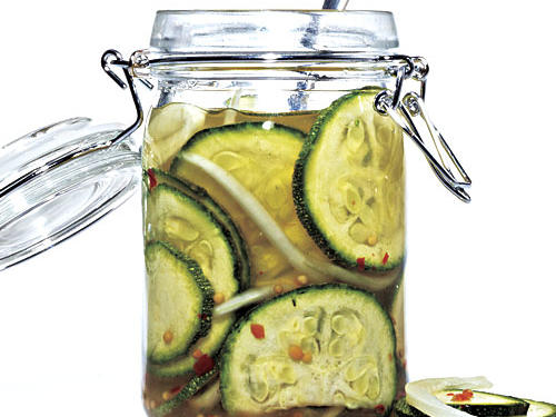 Zucchini Pickles and More New Uses for Zucchini