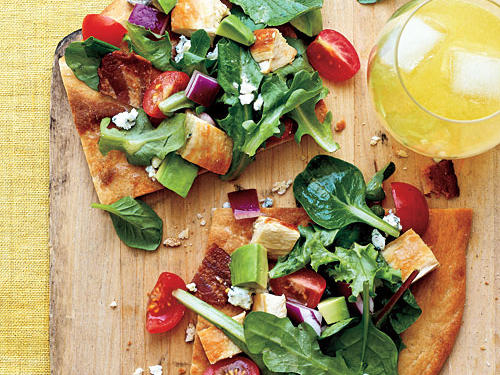 Healthy Dinner Recipes: Cobb Salad Pizza