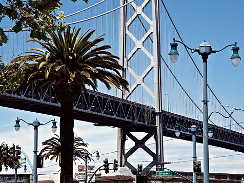 Bay Bridge in San Francisco, CA