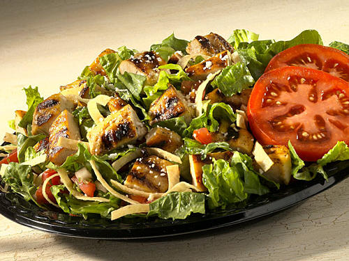 Baja Fresh Salad Nutrition