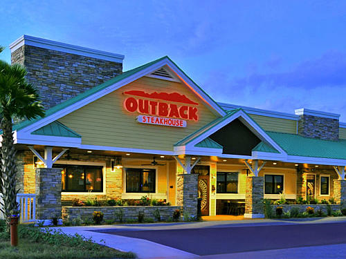 Outback Steakhouse Salad Nutrition