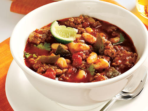 Turkey and Bean Chili Comfort Food Recipe
