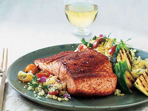 Maple-Glazed Salmon Recipe