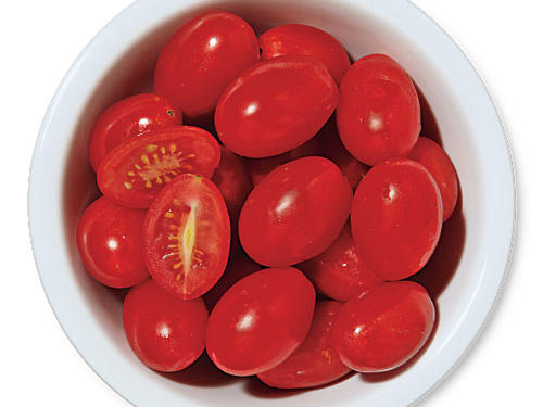 Grape tomatoes add a quick splash of color and flavor.Use for: pasta tosses, salads, garnish