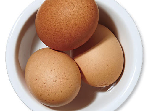 Large eggs: There's simply no quicker protein, and they're just so versatile.Use for: binder in patties and meatballs, salad topper, thickening and enriching sauces and salad dressings, or bulking up fried rice