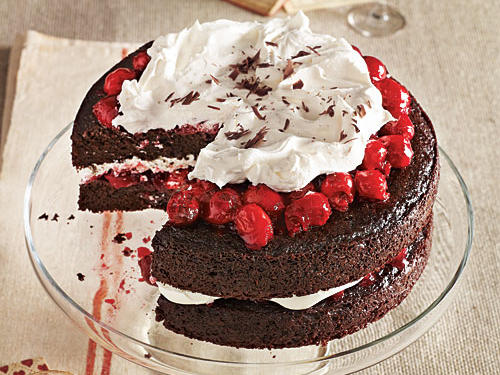 Black Forest Cherry Cake Birthday Recipe