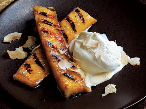 Six ingredients make one delicious dessert in less than 10 minutes.